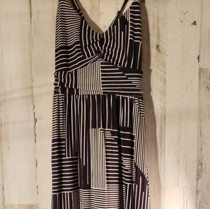 Absolutely beautiful maxi striped dress.